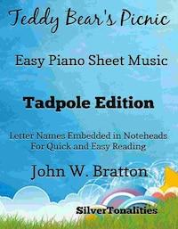 Teddy Bear's Picnic Easy Piano Sheet Music Tadpole Edition