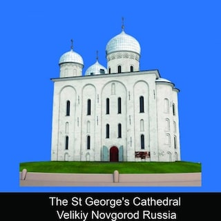 The St. George's Cathedral Velikiy Novgorod Russia