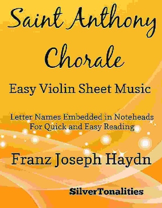 Saint Anthony Chorale Easy Violin Sheet Music