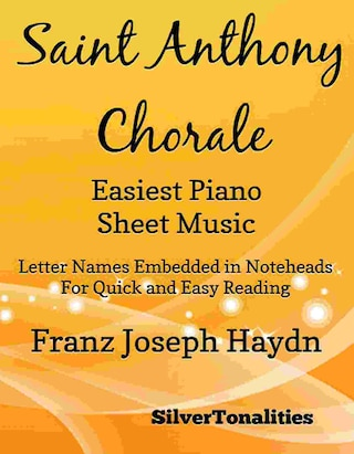 Saint Anthony Chorale Easiest Piano Sheet Music
