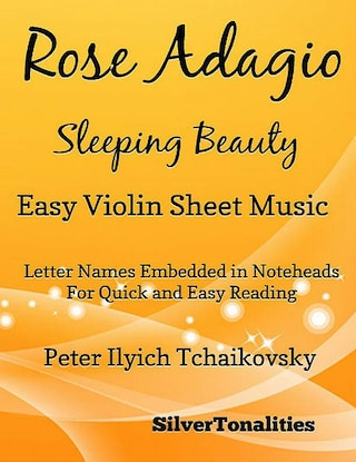 Rose Adagio Sleeping Beauty Easy Violin Sheet Music