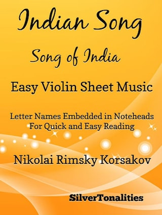 Indian Song Song of India Easy Violin Sheet Music