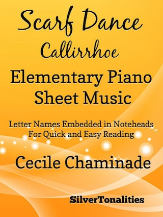 Scarf Dance Callirrhoe Opus 37 Number 2 Elementary Piano Sheet Music