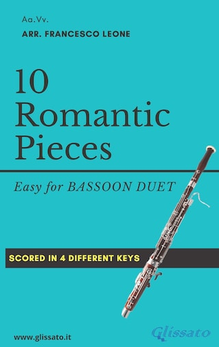 10 Romantic Pieces for Bassoon Duet