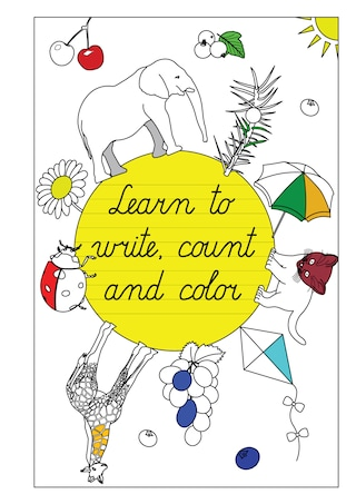 Learn to write  count and color