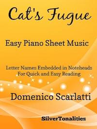 Cat's Fugue Easy Piano Sheet Music