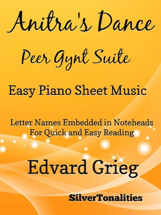 Anitra's Dance Peer Gynt Suite Easy Piano Sheet Music