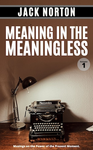 Meaning In The Meaningless, Volume 1