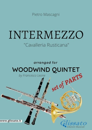 Intermezzo - Woodwind Quintet set of PARTS