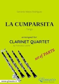 La Cumparsita - Clarinet Quartet set of PARTS