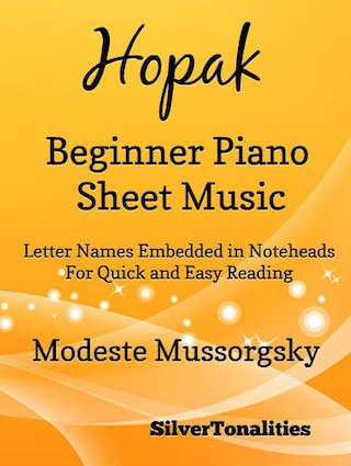 Hopak Beginner Piano Sheet Music