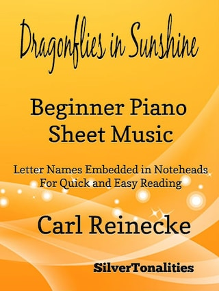 Dragonflies in Sunshine Beginner Piano Sheet Music Tadpole Edition