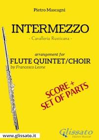 Intermezzo - Flute quintet/choir score & parts