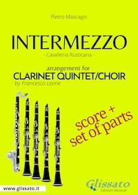 Intermezzo - Clarinet quintet/choir score & parts