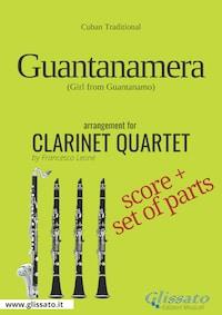 Guantanamera - Clarinet Quartet score & parts