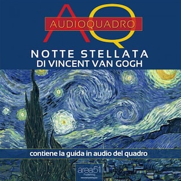 Notte stellata di Vincent Van Gogh. Audioquadro