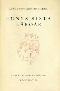 Tonys sista läroår : Resa till kejsarens hotell