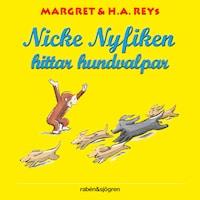 Nicke Nyfiken hittar hundvalpar
