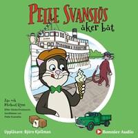 Pelle Svanslös åker båt