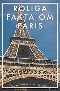 Roliga fakta om PARIS