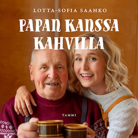 Papan kanssa kahvilla