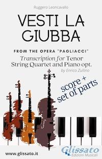 Vesti la giubba - Tenor, Strings and Piano opt. (score & parts)