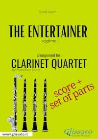 The Entertainer - Clarinet Quartet score & parts