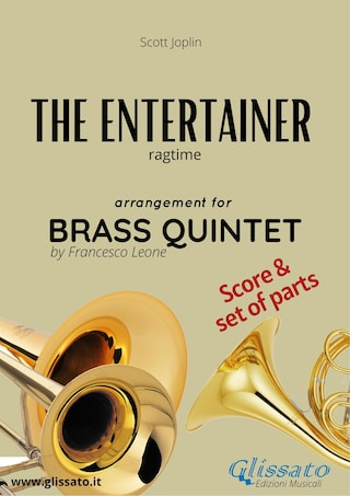 The Entertainer - Brass Quintet score & parts
