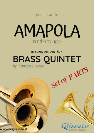 Amapola - Brass Quintet - set of parts