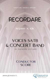 Recordare - SATB & Concert Band (score)
