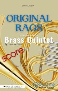 Original Rags - Brass Quintet (score)