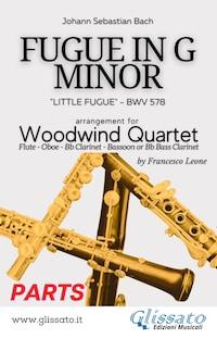 (Parts) Little Fugue - Woodwind Quartet